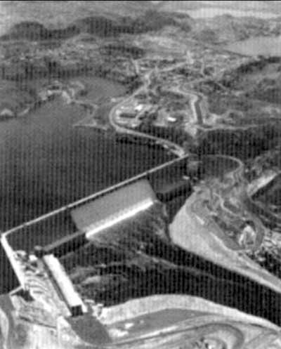 Barragem de regularização com multiuso das águas
