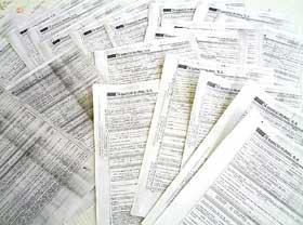Os 22 documentos apresentados por Manfredo Palhares